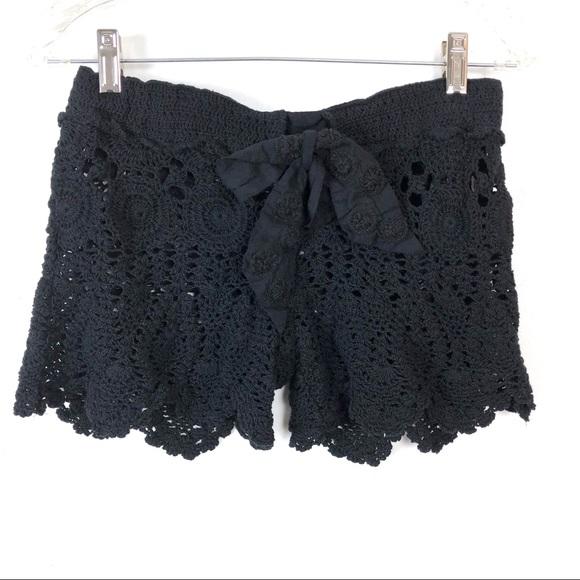 94e583b28e Letarte Other - Letarte Crochet Swim Cover Up Shorts